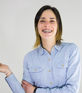María París, 25 años, numero 3. Coordinadora y monitora de ocio y tiempo libre desde hace 8 años. Empresaria local.